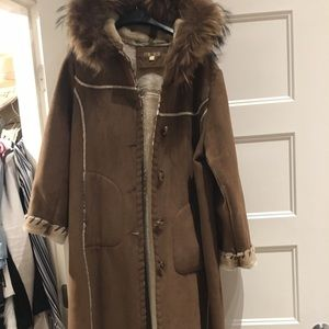 Wilson's leather long coat
